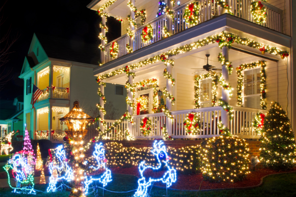 Be Dazzled by Indiana Holiday Light Displays