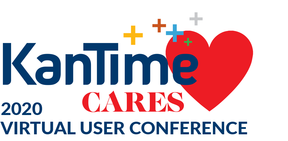 KanTime Cares Virtual User Conference Logo