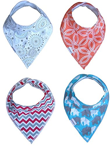 Baby Bandana Drools Bibs For Boys and Girls