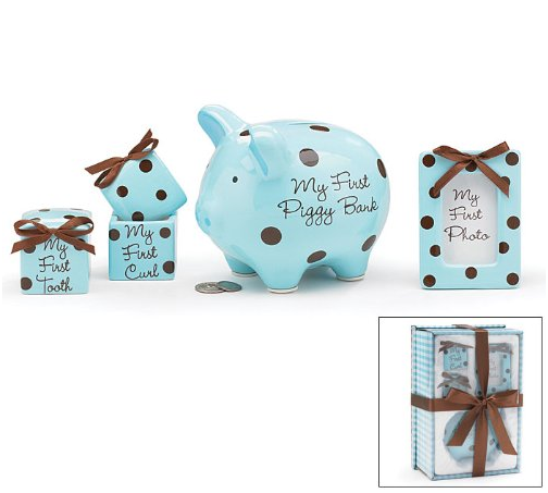 Baby Boy 4 Piece Keepsake Gift