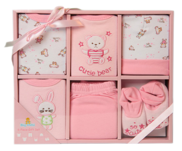 Big Osho Baby 6 Piece Gift Set