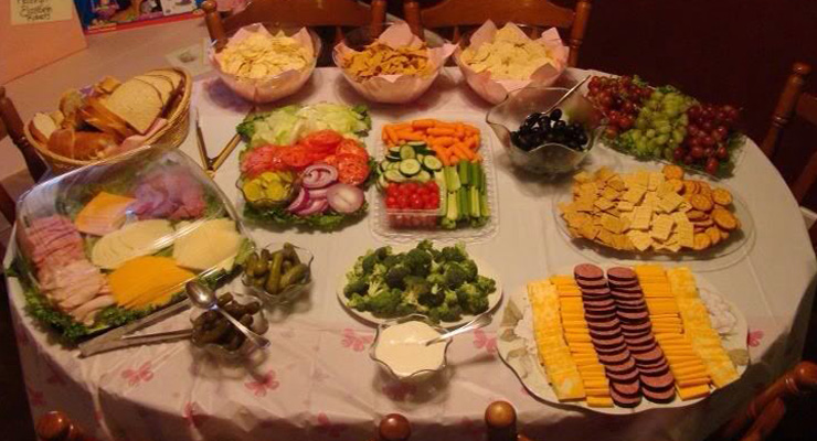 Baby Shower Food For Lunch