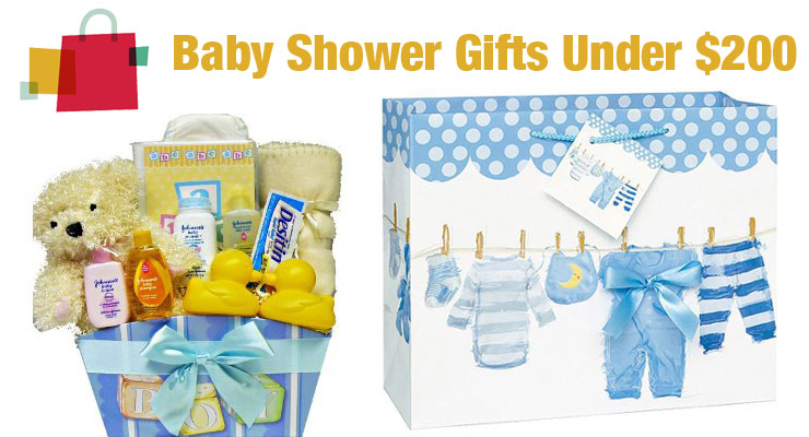 best baby shower gifts under $200