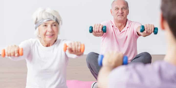 Strength Training Critical for Active Aging