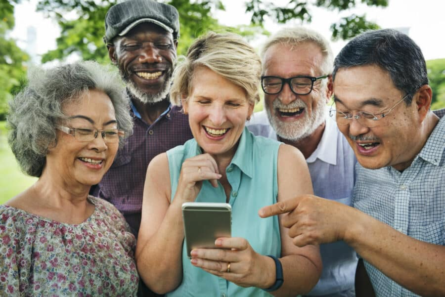 Seniors benefit from social connections