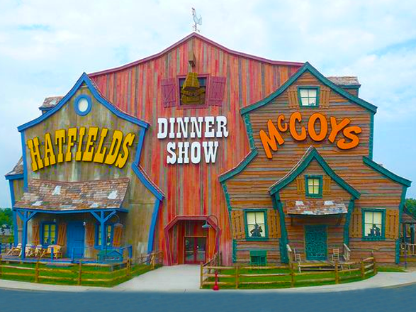 Hatfield and McCoys in Pigeon Forge