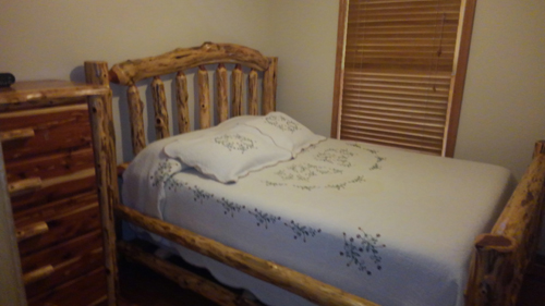 Morning Star 4 Bedroom Log Cabin bedroom2 photo in Gatlinburg - Pigeon Forge Tennessee