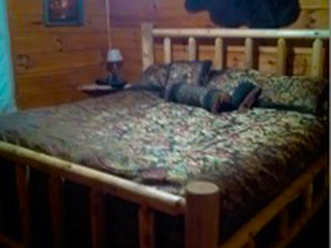 Smoky Mountain Memories 2 Bedroom Log Cabin Bedroom 2 photo in Gatlinburg - Pigeon Forge Tennessee