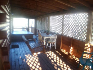 Smoky Mountain Memories 2 Bedroom Log Cabin Deck photo in Gatlinburg - Pigeon Forge Tennessee