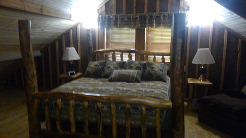 Tennessee Sunshine 3 Bedroom Log Cabin bedroom3 photo in Gatlinburg - Pigeon Forge Tennessee