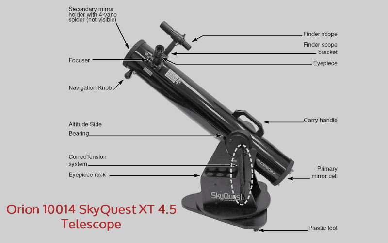Orion 10014 SkyQuest XT 4.5 Telescope Review