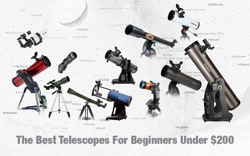 The Best Telescopes For Beginners Under $200
