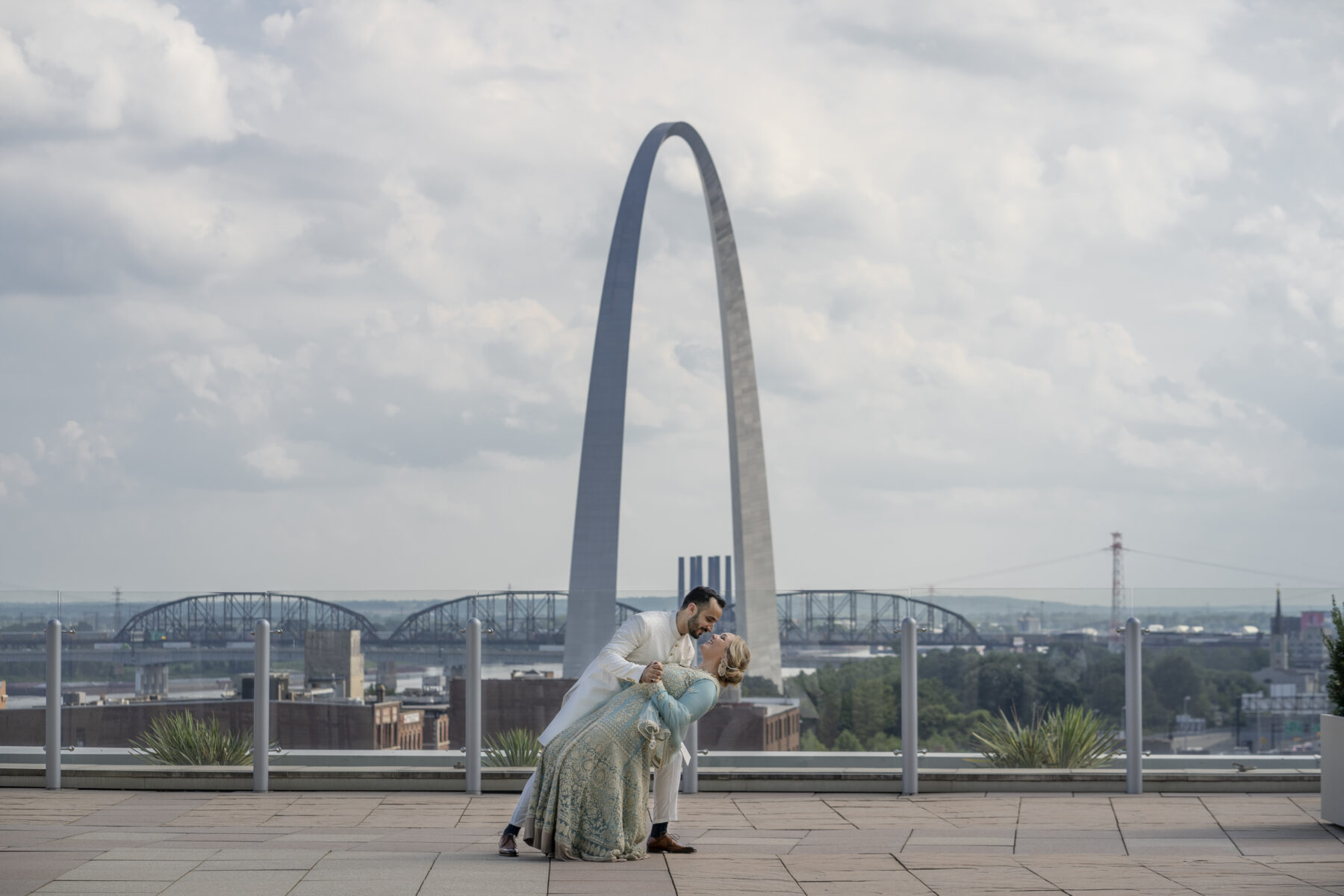 st louis wedding photo
