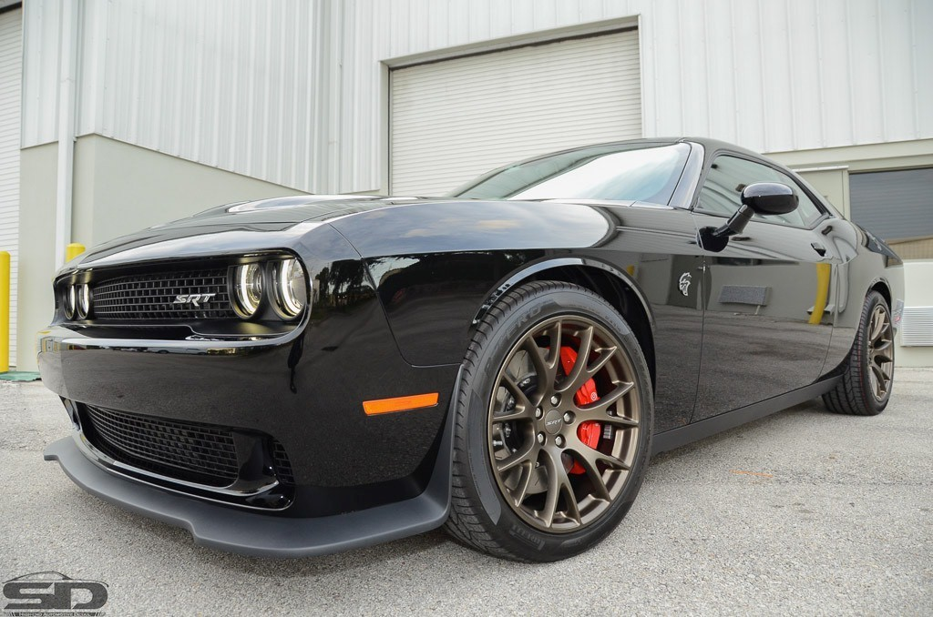dodge challenger, paint protection, ceramic coating