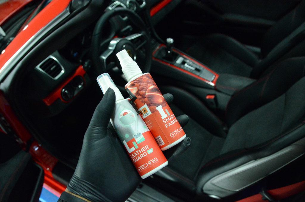 Porsche Boxter Spyder Interior Protection, Paint Protection