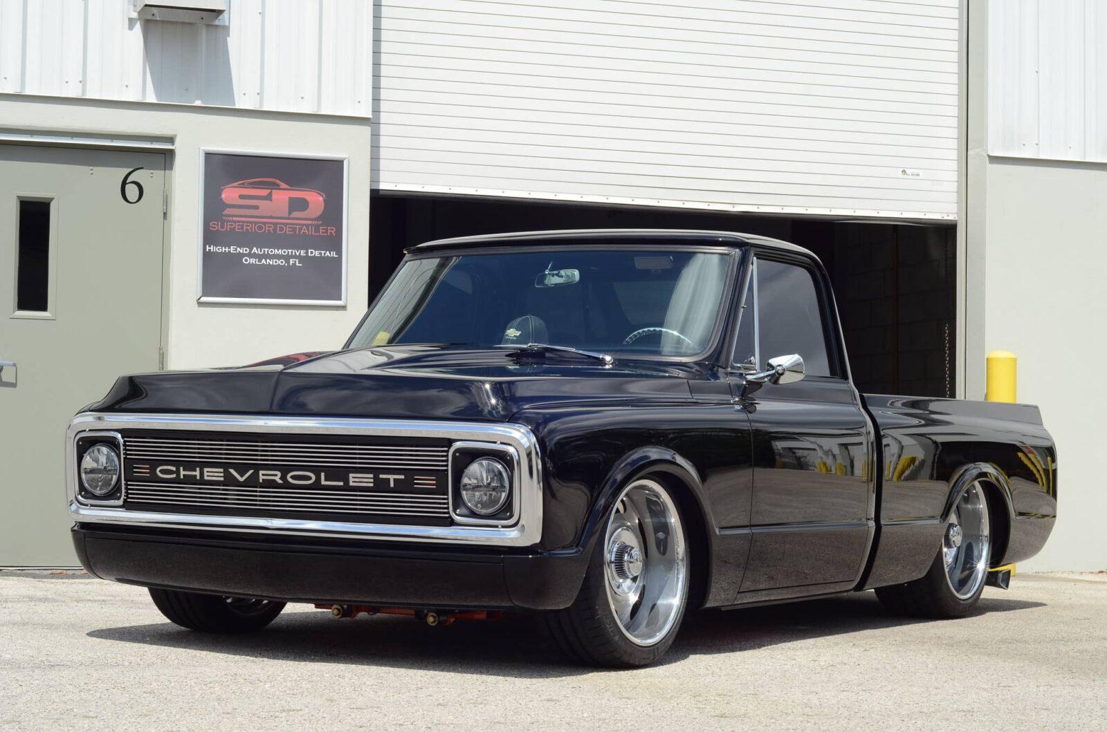 Chevy C10 Custom, Paint Correction