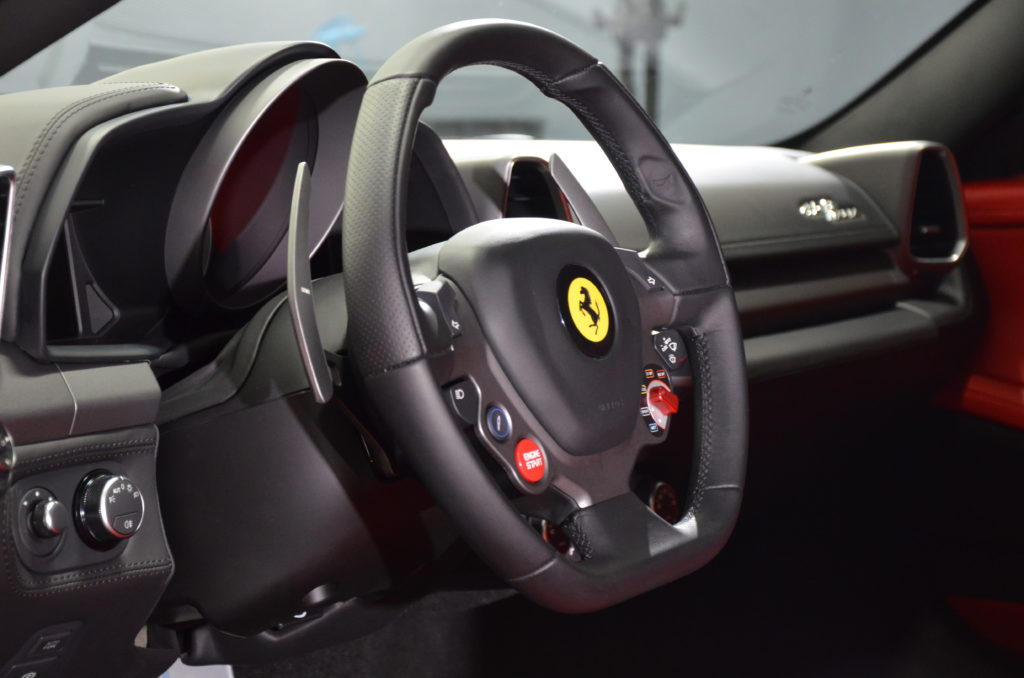 458 Italia Interior Detail