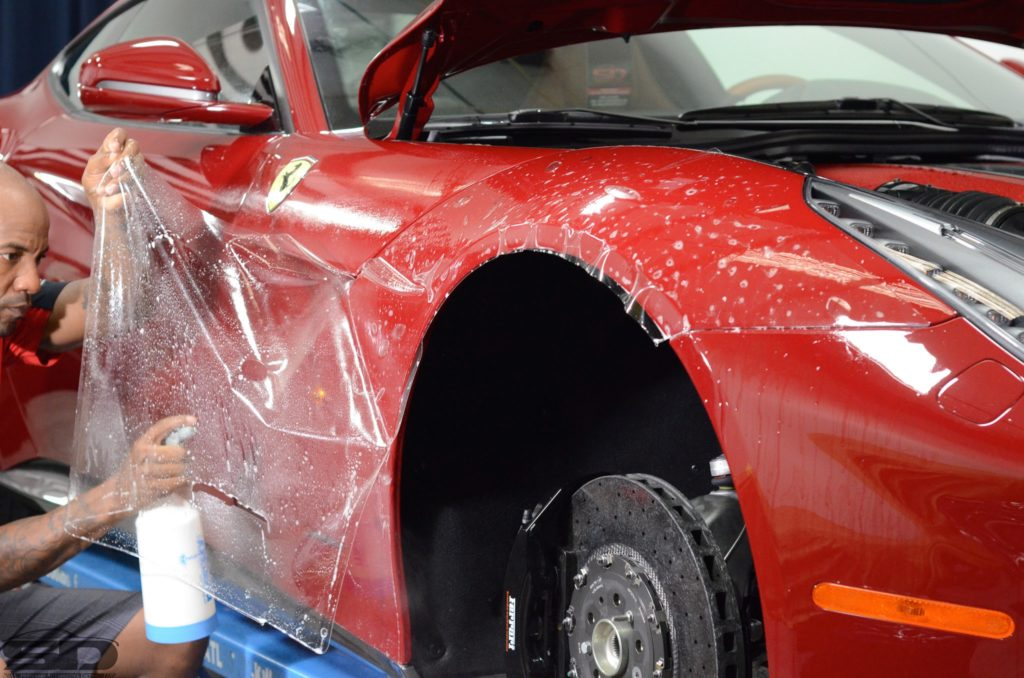 Ferrari F12 PPF and Paint Correction