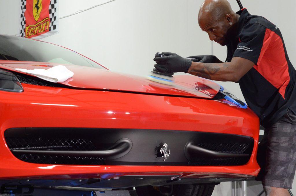 Ferrari 458 Paint Correction