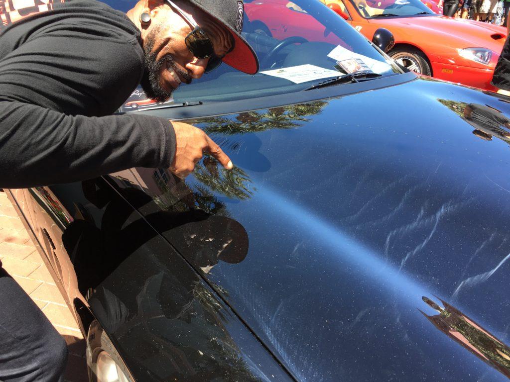 Ferrari Orlando Paint Correction