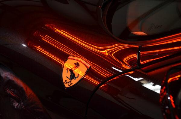 Ferrari Orlando Paint Protection, Glass Coating, Protective Coating, Ferrari Detailing Orlando, Ferrari Detailing