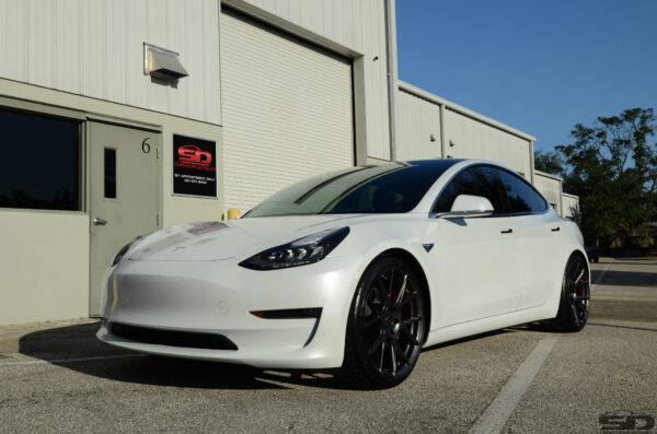 Tesla Paint Protection Film, Tesla of Orlando, Tesla Paint Protection Orlando, Superior Detailer