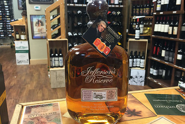 Rare Finds Jefferson's Reserve Kentucky Straight Bourbon Whiskey