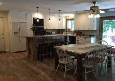 Northern Michigan Homebuilder Kitchen After