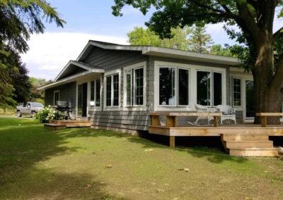 Northern–Michigan Home BuildersAlbertson Exterior Close After