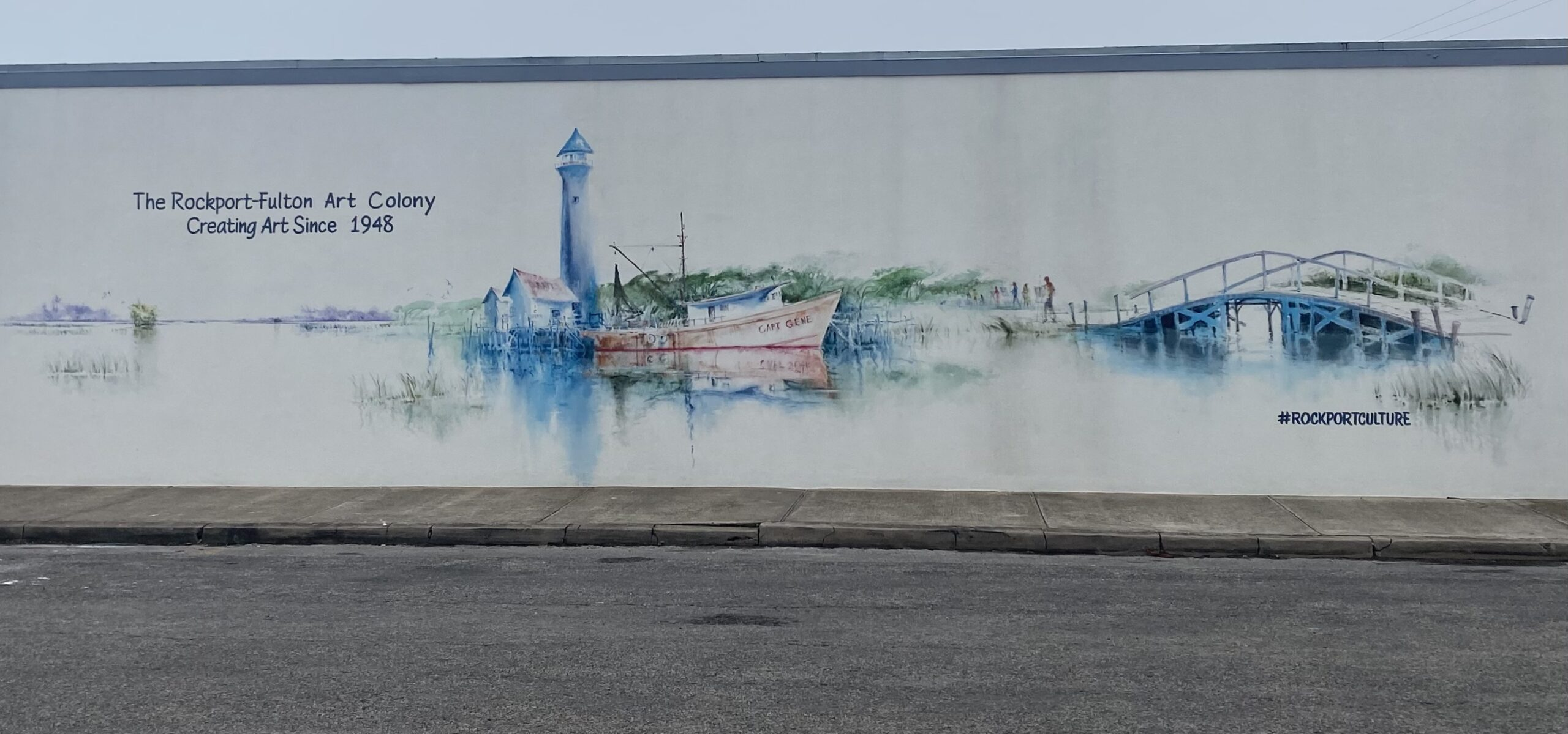 The Rockport Fulton Art Colony Mural Unveiling and Book Signing March 27, 2021