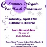 TSC Summer Delegate Car Wash