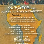 Timbuktu Fundraiser Lunch