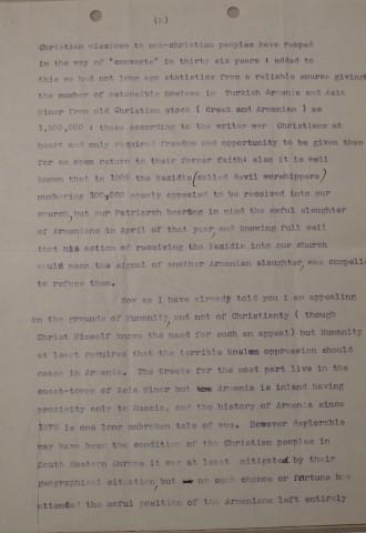 Diana Apcar to Charles Jefferson, July 1, 1914, page 2