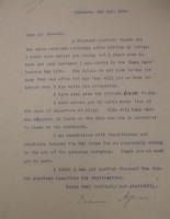 Diana Apcar to T.J. Edmonds, May 2, 1919
