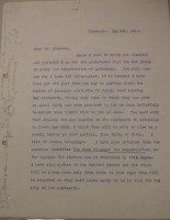 Diana Apcar to T.J. Edmonds, May 5, 1919