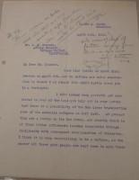 Diana Apcar. to T.J. Edmonds, April 10, 1919, page 1