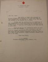 T.J. Edmonds to Diana Apcar, March 1919