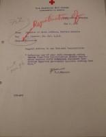 T.J. Edmonds to Diana Apcar, May 3, 1919