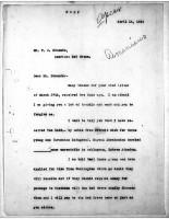 Diana Apcar. to T.J. Edmonds, April 14, 1919,