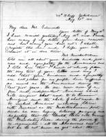 Diana Apcar to T.J. Edmonds, Aug 11, 1919, page 1