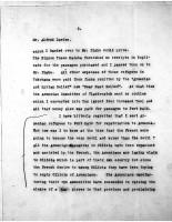 Alfred Davies to Diana apcar, Aug 24, 1920,  page 2