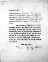 Alfred Davies to Diana apcar, Aug 24, 1920,  page 3