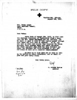 Alfred Davies to Diana Apcar, Aug 4, 1920