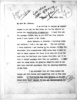Diana Apcar to T.J. Edmonds, June 27, 1919, page 1
