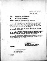 T.J. Edmonds to Mr. Roland, April 30, 1919