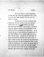 Diana Apcar to T.J. Edmonds, May 12, 1919, page 2