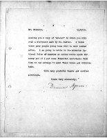 Diana Apcar to T.J. Edmonds, May 12, 1919, page 3