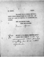 Diana Apcar to T.J. Edmonds, May 1, 1919, page 2