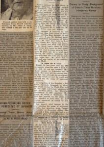 Residents of port attend Apcar rites, Japan Advertiser, July 1937, Yokohama, ACF