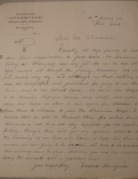 Letter from Refugee, March 16, 1919, page 2